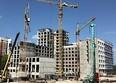 Комсомольский, 48: Ход строительства август 2020