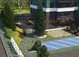 Жилой комплекс Green Park (Грин Парк): Макет благоустройства придомовой территории