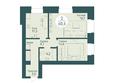 SCANDIS OZERO (Скандис Озеро), д. 1: 2-комнатная 60,6 кв.м