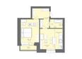 Жилой комплекс Да Винчи, дом 7: 2-комнатная студия 60,22 кв.м
