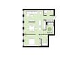 ЕВРОПЕЙСКИЙ БЕРЕГ, дом 28: 2-комнатная 69,6 кв.м