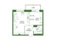 Life (Лайф), дом 1, б/с 1: 1-комнатная 39,7 кв.м