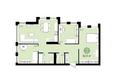 ЕВРОПЕЙСКИЙ БЕРЕГ, дом 28: 3-комнатная 82,9 кв.м