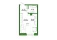 Life (Лайф), дом 1, б/с 1: Планировка 1-комн 29,97 м²