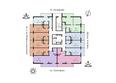 ВОСХОД: Планировка 3-10 этажей