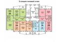 Жилой комплекс ПРИОЗЕРНЫЙ, дом 3: Блок-секция 5. Планировка типового этажа