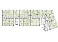 Жилой комплекс ПАНОРАМА, дом 3: Планировка 5 этажа
