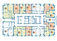 Жилой комплекс ГРАНИТ: Планировка квартир на 3-7 этаже ЖК Гранит