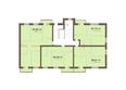 Жилой комплекс Академгородок, дом 1, корп 1: Корпус 1. Подъезд 1. Планировка типового этажа