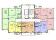 Жилой комплекс ВЕНЕЦИЯ-2, дом 5: Подъезд 2. Планировка 1-12 этажей
