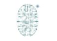 Жилой комплекс ФЛОТИЛИЯ: Планировка 3-15 этажей дома «Адмирал Лазарев»