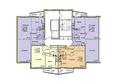 Жилой комплекс ВЕНЕЦИЯ-2, дом 6: Подъезд 2. Планировка 13-17 этажей
