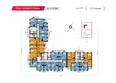 КИРОВА, дом 2: Планировка 10-16 этажей