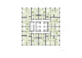 Жилой комплекс ПАНОРАМА, дом 7: Планировка 8-25 этажей