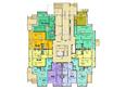 ВОЛНА, дом 3: Планировка 1 этажа