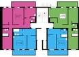 Жилой комплекс ЖИВЁМ эко-район, 2 квартал, дом 2: Дом №1. Секция №3. 1 этаж