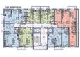 ВИДНЫЙ-3, б/с 1: Планировка типового этажа