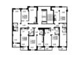 Павловский тракт, 291, 1 этап: Планировка типового этажа, 3 б/с