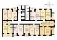 ДРУЖНЫЙ-3, дом 4: Блок-секция 1. Планировка 2 этажа