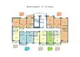 Жилой комплекс НА ФАДЕЕВА, дом 5: Подъезд 1. Планировки 9-17 этажей