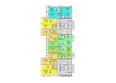 Жилой комплекс АТЛАНТЫ: Блок-секция 2. Планировка 2 этажа