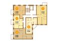 МОСКОВКА-2, квартал Б, дом 8: Планировка 2 этажа