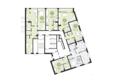 Жилой комплекс ПАНОРАМА, дом 3: Подъезд 2. Планировка 1 этажа