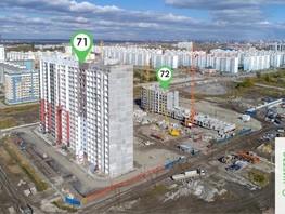 Продается 2-комнатная квартира ЧИСТАЯ СЛОБОДА, дом 72, 53.7  м², 4420000 рублей