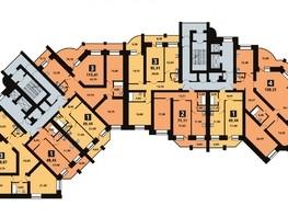 Продается 2-комнатная квартира NOVELLA (Новелла), 1 оч, 110  м², 7700000 рублей