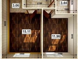 2-комнатная квартира, 35  м², 3/9 этаж