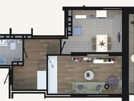 1-комнатная квартира, 37.95  м², 19/24 этаж