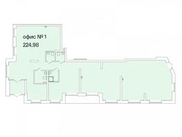 Продается Офис РАСЦВЕТАЙ НА МАРКСА, дом 2.1, 224.98  м², 24747800 рублей