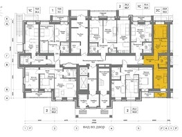 2-комнатная квартира, 39.5  м², 1/13 этаж
