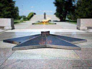 В Иркутске обновят мемориал «Вечный огонь»