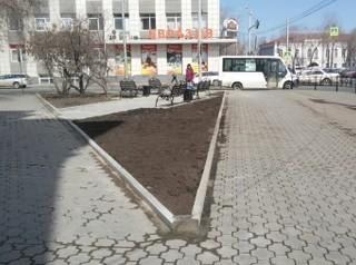 В центре Иркутска появился новый сквер