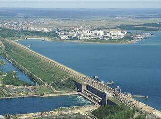 Плотину ГЭС в Иркутске хотят благоустроить