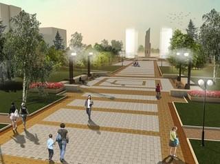 Благоустроенный бульвар Победы откроют в октябре