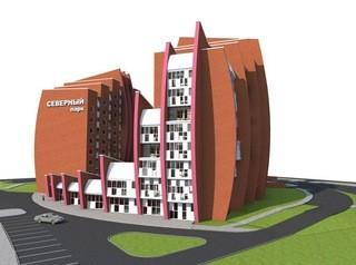 Оригинальный дом-парус с двухуровневыми квартирами и подземной парковкой строится в Томске