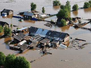 В Иркутской области тысячи домов затопило из-за паводков