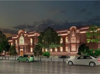 Здания в центре украсят при помощи художественной подсветки