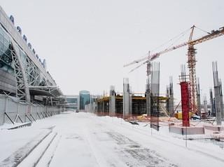 Новый терминал в «Толмачево» построен на 9%