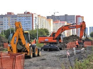 Первый участок новой дороги к ЖК «Матрешкин двор» сдадут через год
