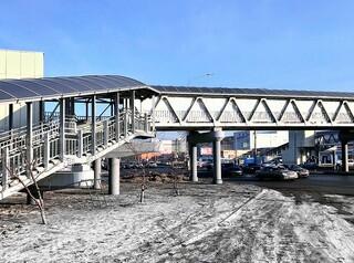 Пешеходный мост к новой школе на Бугаче появится в 2022 году