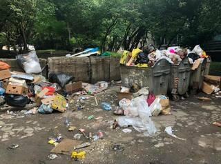 В Иркутске подрядчики отказались вывозить мусор