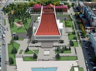 Что появится на Театральной площади в Омске?