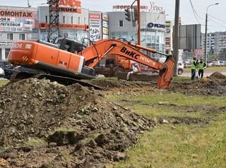 Реконструкцию улицы Попова завершат к осени
