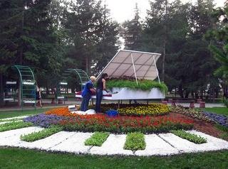 Для омской выставки «Флора» в этом году готовят 42 композиции