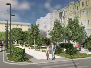 На правом берегу появится собственный пешеходный бульвар