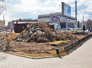 В Барнауле благоустраивают новые скверы