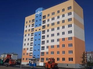 В Белово построен новый дом в квартале «Сосновый» для участников социальных программ
